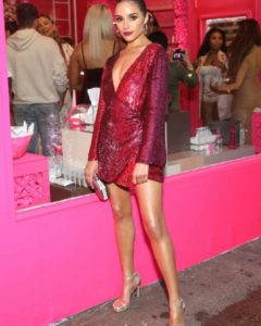 Olivia Culpo – Beautyblender BOUNCE Liquid Whip Foundation Launch in NYC