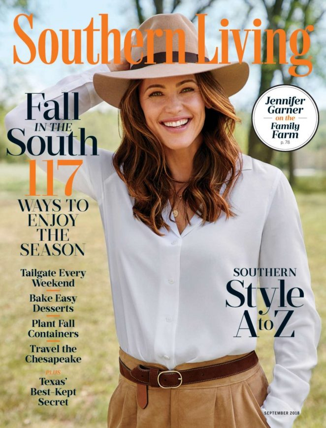 Jennifer Garner for Southern Living (September 2018)