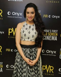 Shradha Kapoor – Launch Of First Led Screen Cinema Onyx in New Delhi