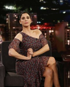 Sarah Silverman at Jimmy Kimmel Live! in Los Angeles