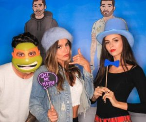 Victoria Justice and Madison Reed – Photobooth at an event in Beverly Hills