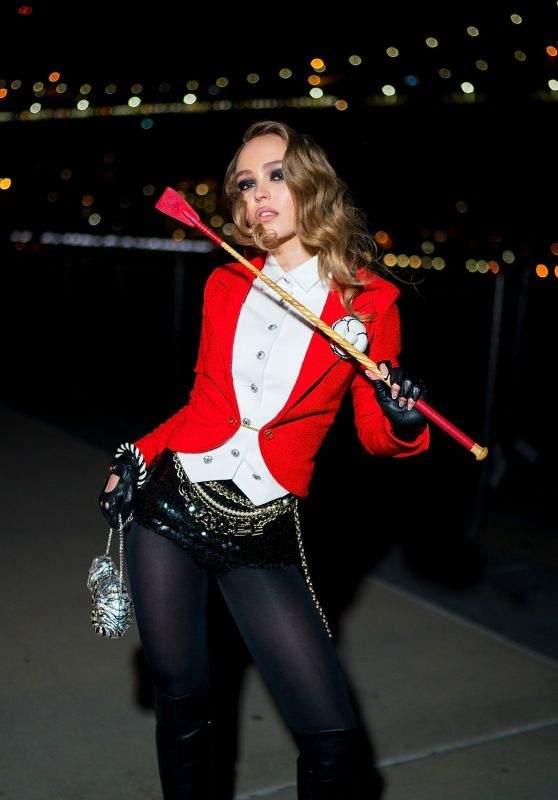 Lily-Rose Depp – V Magazine & Chanel Halloween Party in NY