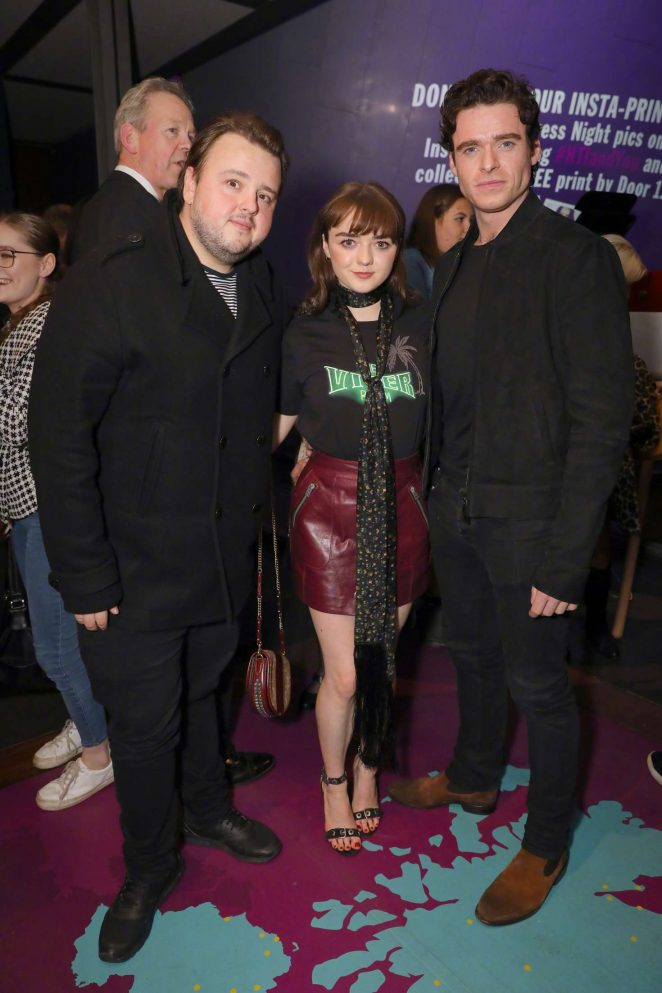 Maisie Williams – 'I and You' Press Night in London