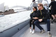 Meghan Markle and Prince Harry Sailing Trails in Sydney