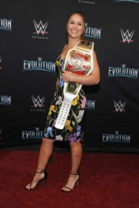 Ronda Rousey – WWE's First Ever all-women's event 'Evolution' in Uniondale