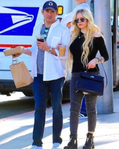 Avril Lavigne and Phillip Sarofim Out in Beverly Hills