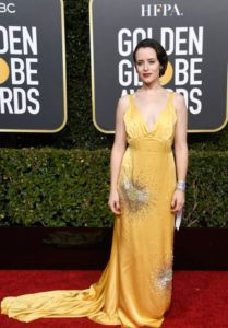Claire Foy – 2019 Golden Globe Awards Red Carpet