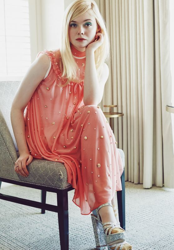 Elle Fanning – Wearing Miu Miu for the Coveteur