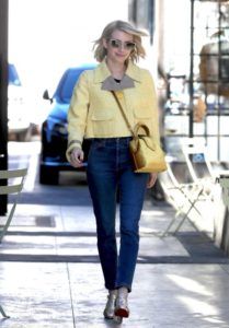 Emma Roberts Street Style – Leaves The Nine Zero One in West Hollywood