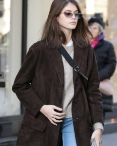 Kaia Gerber Street Style – Leaves an Office in Paris
