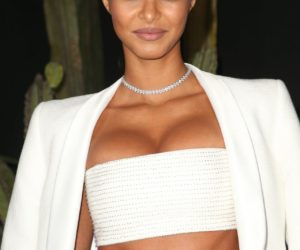 """Lais Ribeiro – """"Muses"""" Exhibition Launch Party 01/25/2019"""