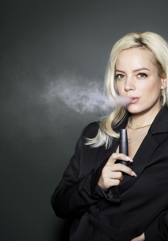 Lily Allen – Photoshoot for Vype Electric Cigarettes Commercial